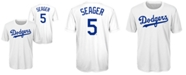 Outerstuff Corey Seager Los Angeles Dodgers Coop Poly Player T-Shirt, Big Boys (8-20)
